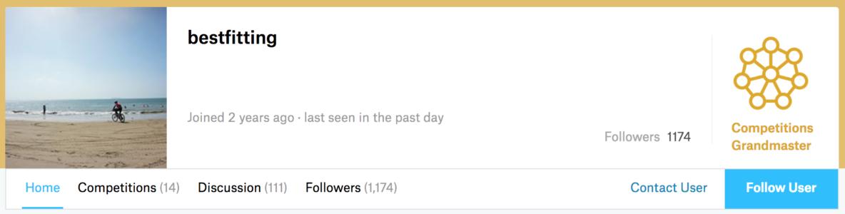 Kaggle大神经验分享丨如何用15个月冲到排行榜的首位